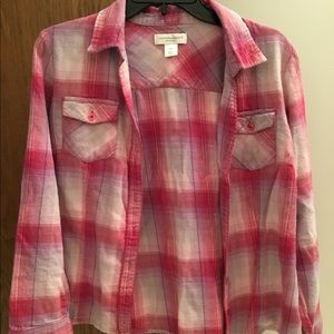 Christopher and Banks Lightweight Flannel
